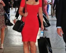 Jennifer Love Hewitt w czerwonej sukience (3)