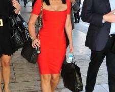 Jennifer Love Hewitt w czerwonej sukience (4)