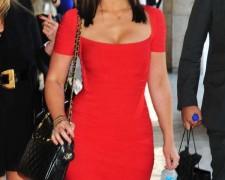 Jennifer Love Hewitt w czerwonej sukience (5)