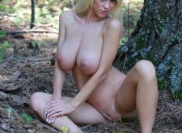 Cycata blondyna w lesie (3)