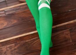 Zielone podkolanówki (7)