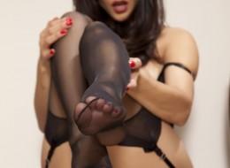 Czarna sex bielizna (4)