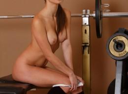 Sunia na siłowni (7)