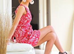 Śliczna w różowej sukience (11)