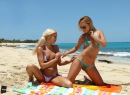 Młode cipki na plaży (13)