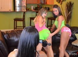 Trzy koleżanki i amatorska sex sesja zdjęciowa (15)