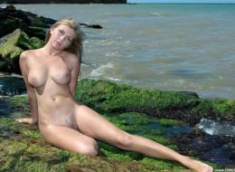 Super cipka na wakacjach na plaży (7)