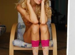 Chuda pipka blond anielskiej laseczki (6)