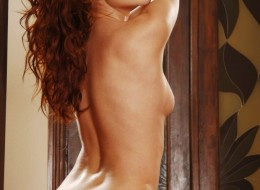 Prawdziwa ruda naga laska (2)