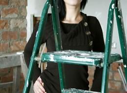 Żona Jurka malarz przyszła na robotę pokazać cyce chłopakom (9)